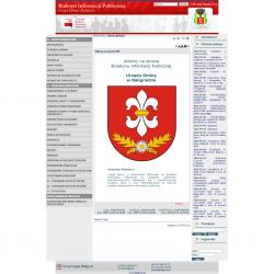 Zobacz zrealizowany projekt na www.bip.baligrod.pl