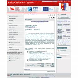 Zobacz zrealizowany projekt na www.bip.zetorzeszow.pl/dddlugie