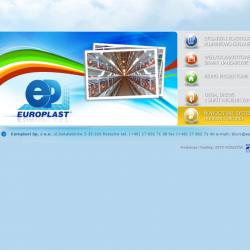 Zobacz zrealizowany projekt na www.europlast.cms.zetorzeszow.eu