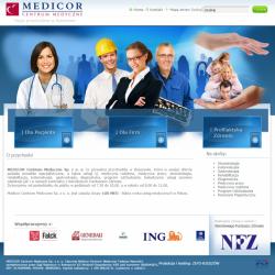 Zobacz zrealizowany projekt na www.medicor.pl