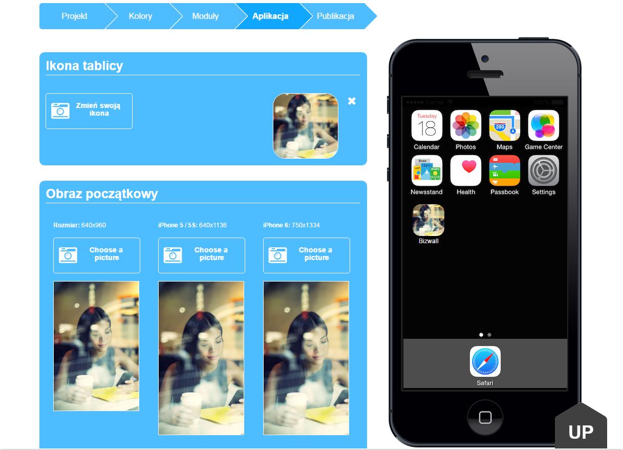 Kreator aplikacji mobilnych