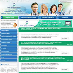 Platforma P1 wykonana dla Centrum Systemów Informatycznych Ochrony Zdrowia