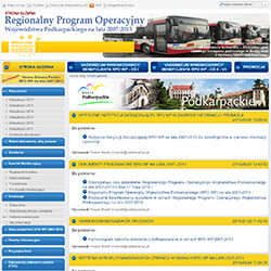 Zobacz zrealizowany projekt nahttp://rpo2007-2013.podkarpackie.pl